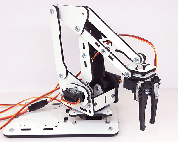 Robot Kits DIY Tutorials for ArmUno and Mearm